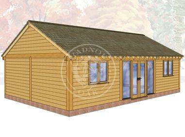 Oak Framed Annexe | Radnor Oak | ANX-BYL3004 | Main Image