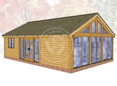 Oak Framed Annexe | Radnor Oak | ANX-BYL3006 | Main Image