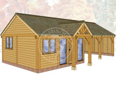 Oak Framed Annexe | Radnor Oak | ANX-WA3001 | Main Image
