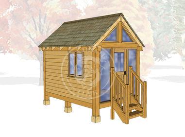 Oak Framed Summerhouse | Radnor Oak | GC002 | MAIN IMAGE