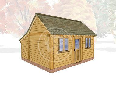 Oak Framed Summerhouse | Radnor Oak | SHL006 | MAIN IMAGE